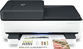 HP Envy Pro 6475 Wireless All-in-One Printer, Mobile Print, Scan & Copy, Compatible with Alexa (8QQ86A) (Renewed)