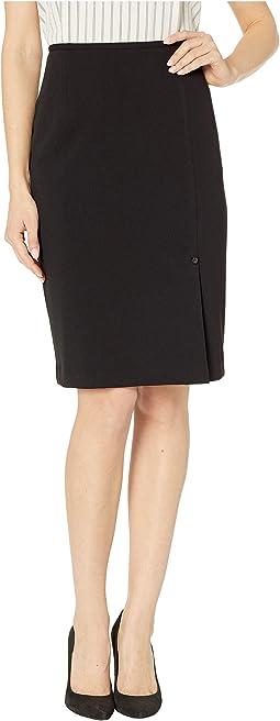 Scuba Crepe Skirt
