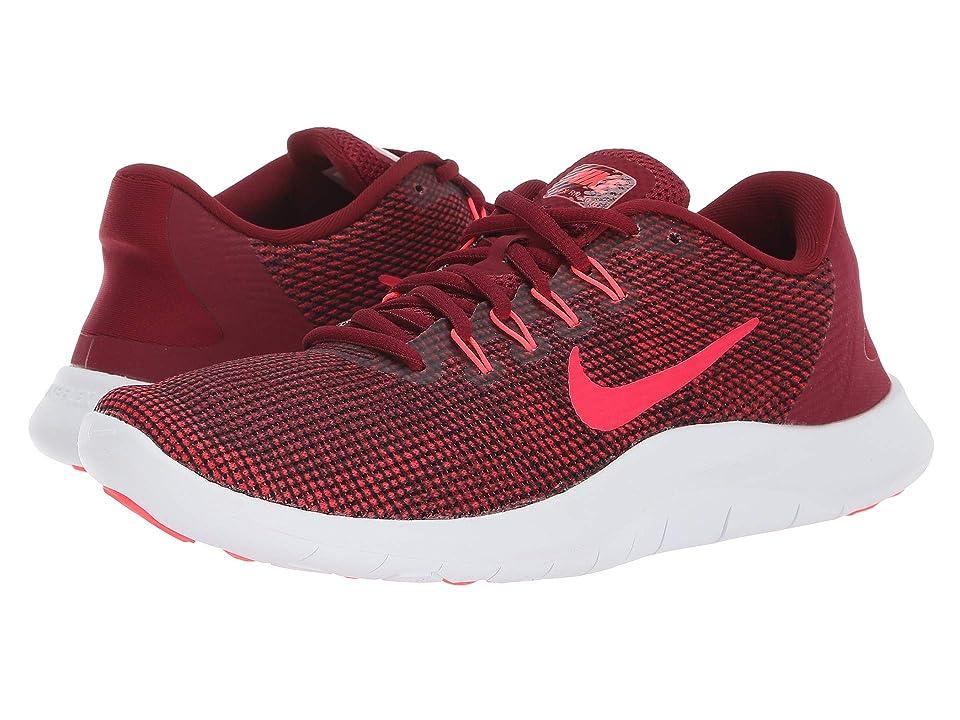 Nike Flex RN 2018 (Team Red/Flash Crimson/Burgundy Ash) Women