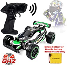 Blexy RC Racing Cars 2.4Ghz High Speed Radio Remote Control Car 1:20 2WD Racing Toy Cars Electric Vehicle Fast Race Buggy Hobby Car Green 211