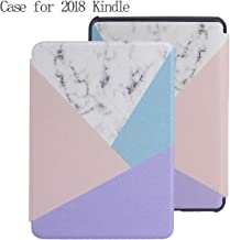 Kindle Paperwhite Cover Case for All-New Kindle Paperwhite (10th Generation, 2018 Release) - Premium Lightweight Cover with Auto Sleep/Wake for Amazon Kindle Paperwhite E-Reader (ColorTriangle)