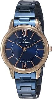 Daniel Klein Analog Blue Dial Women's Watch-DK11665-6