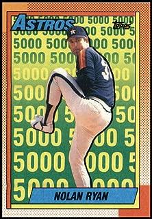 1990 Topps #4 Nolan Ryan Astros