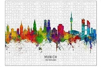 artboxONE Ravensburger-Puzzle XL (1000 Teile) Städte / Mün