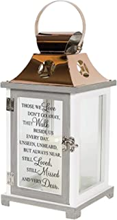 Carson Walk Beside Us Memorial Lantern