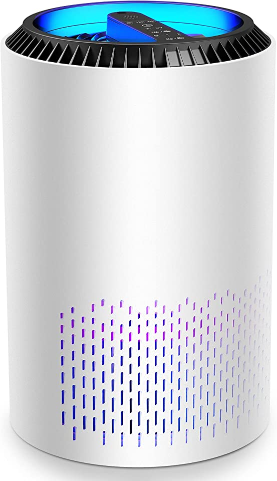 HEPA Air Purifier for Home Air Filter with Fragrance Sponge Air Cleaner Eliminate Smoke, Dust, Pollen, Dander Air Purifiers for Home, Bedroom, Living Room, Kitchen and Office