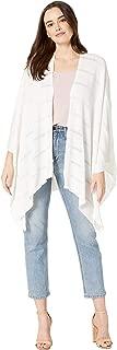 Calvin Klein 女士针织阴影条纹披肩