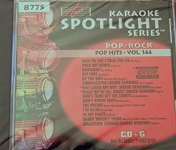 Sound Choice Karaoke 8775 - Pop Hits Vol 144