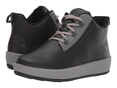 Clarks Step North Mid (Black Synthetic) Women