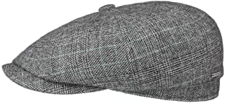 Stetson Hatteras Cashmere Silk Newsboy Cap Men - Made in Germany