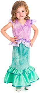 Little Adventures Magical Mermaid Princess Dress Up Costume for Girls