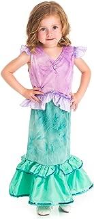 Magical Mermaid Princess Dress Up Costume for Girls