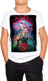 DibuNaif Camiseta Serie Televisión Niño - Unisex Stranger Things
