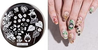Nail Art - 1lot by 10 Nail Stamping Plate Image Transfer Templates Stamp Tool My neighbor totoro Hayao miyazaki series