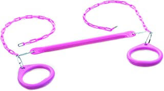 CREATIVE CEDAR DESIGNS Standard Trapeze bar W/Rings