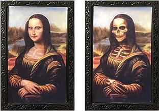 DaGou Halloween Wall Decor,Halloween Trick or Treat Mega Value Party Scene Setters Wall Decorating Kit (Mona Lisa)