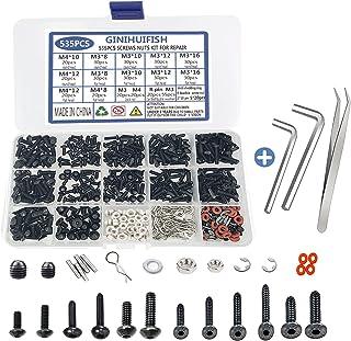 535PCS RC Screw Kit Repair Tool Assortment Set M3 M4 Hex...