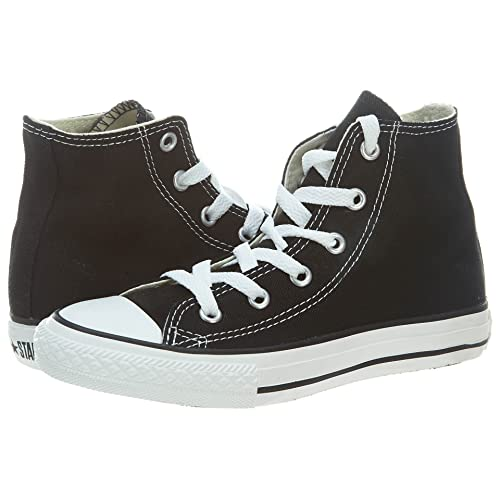 8b3ac6ede6484b Converse Yths Chuck Taylor All Star Hi Black Little Kids 3J231 (3)