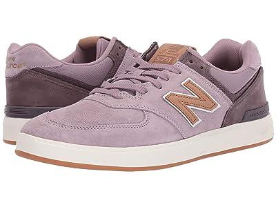 New Balance Numeric AM574 (Rose/Tan) Men