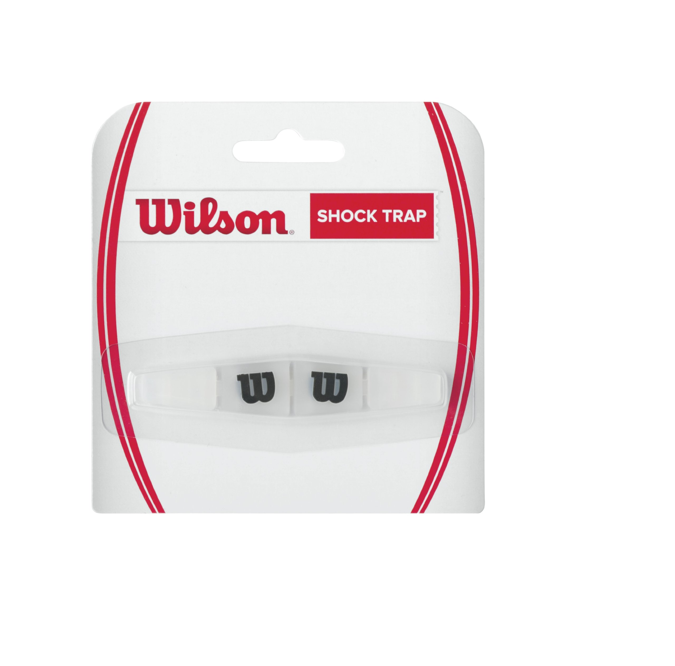 NS WILSON WRZ537000 Amortiguador Raquetas-Unisex Negro