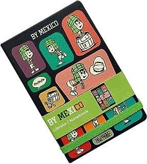 By Mexico, Cuaderno clásico, Hojas Rayadas Libreta modelo El Chavo del ocho