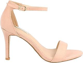 c8370e67 Amazon.es: Sandalias Elegantes De Tacon - Rosa