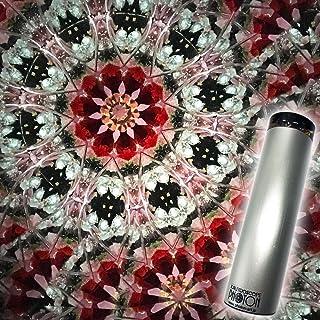 日本製『ダイヤモンド ダスト』 オイル万華鏡 ルビー レッド diamond-red【母の日】【父の日】【ギフト】【クリスマス】【誕生日】【お祝い】