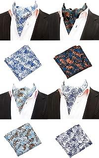 Huojingli Plaid Printed /& Striped Pre-Tied Bow Ties Available