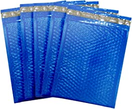 Amiff Blue Poly Bubble mailers 6x9 Padded envelopes 6 x 9. Pack of 20 Poly Cushion envelopes. Exterior Size 7 x 9 (7 x 9). Peel and Seal. Mailing, Shipping, Packing, Packaging.
