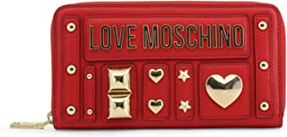 Love Moschino Wallet Borchie Red
