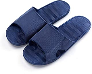 Summer Bathroom Slippers Slip Bath Leaking Home Thick-soled Men And Women Plastic Cute Couple Sandals