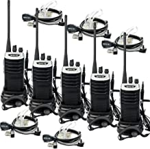 Retevis RT7 Walkie Talkies Adults USB Rechargeable UHF VOX Long Range Pricacy Code Security Portable Two Way Radios with Headset and Mic(5 Pack)