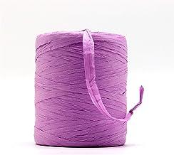 180 m/roll natuurlijke raffia touw garen lint touw stro garen voor handknitting breien zomer hoeden geschenkdoos raffia st...