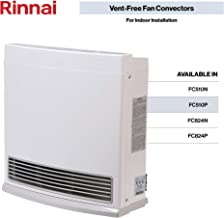 Rinnai FC510P Vent-Free Fan Convector Propane Gas Space Heater