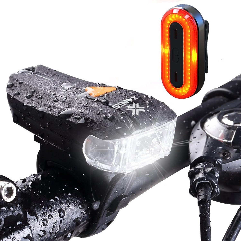 GEOPONICS SFL01 600LM XPG + 2Bicycle S Sensor Bike Front Light STL03 100LM IPX8 Bicycle li