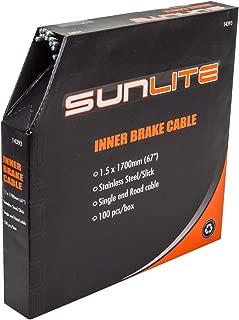 Sunlite Bulk Box Brake Cables, Box of 100