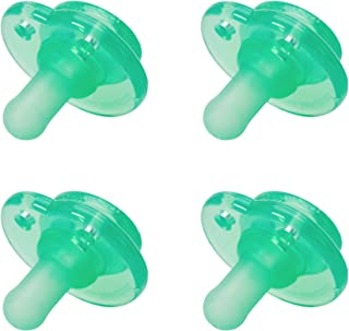 Nookums Paci-Plushies Replacement Pacifier 4 Pack (Green)