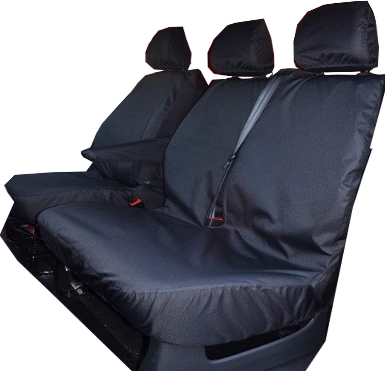 None Fold Bench Seat SE /& Business Fiat Talento Vauxhall Opel Vivaro 2014 onwards Nissan NV300 Wheels N Bits Van Waterproof Seat Covers To Fit Renault Master
