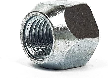 1/â verchromt Rad Muttern M12 x 1,5/Â mit Flexible Membran Ring SW 19/â f/ür Original Aluminium Rad Fiesta