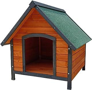 Gardiun KNH1230 - Caseta de Perro de madera Loki a 2 aguas