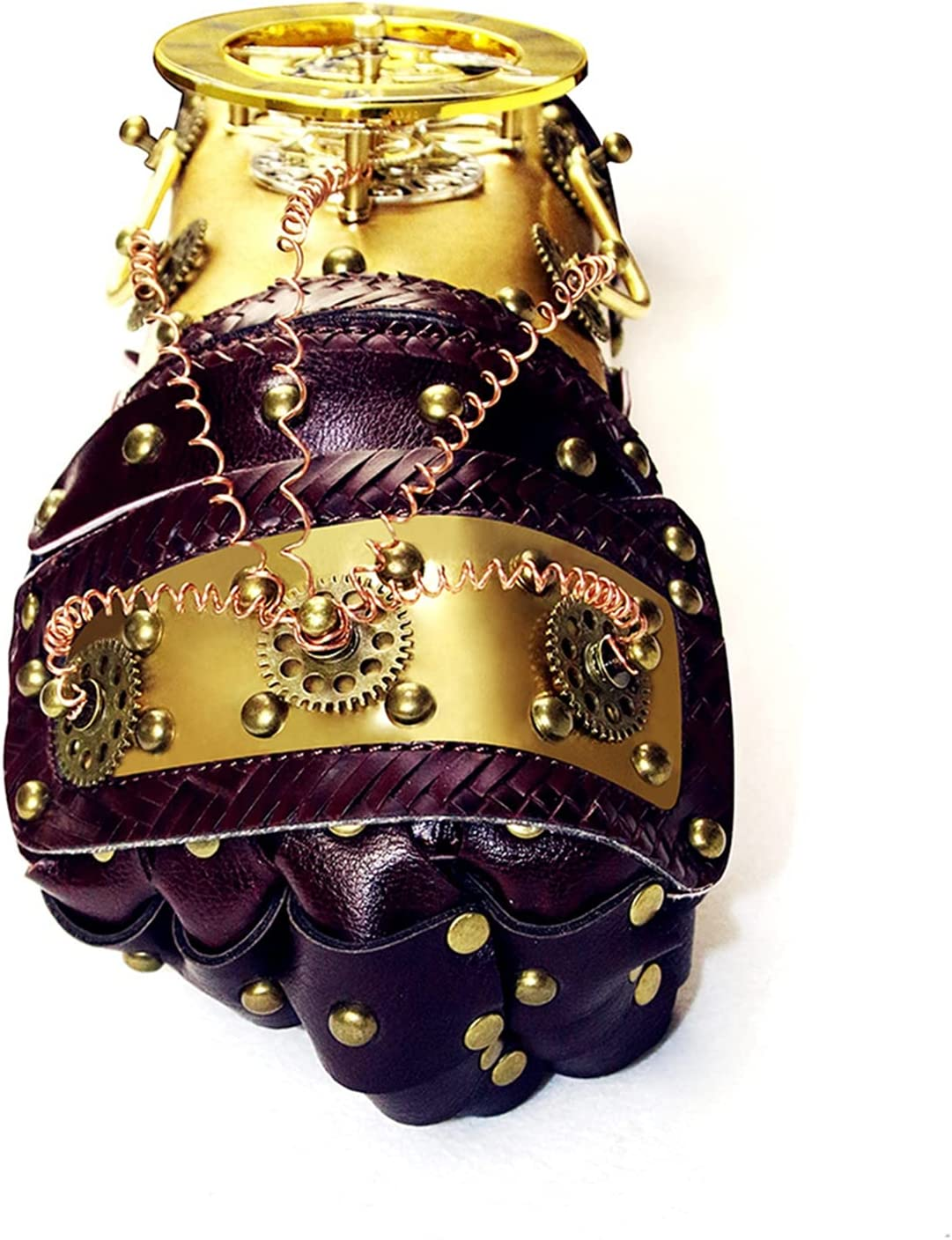 LEADALL Steampunk Mechanical Genuine Free Shipping Glove Armguards Vintage Popularity
