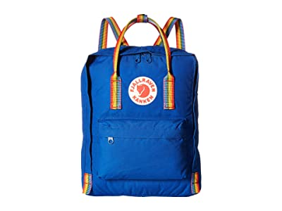 Fjallraven Kanken Rainbow (Deep Blue/Rainbow Pattern) Backpack Bags