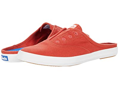 Keds Moxie Mule Seasonal Solids (Chili Red) Women
