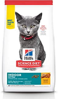 Hill's Science Diet Dry Cat Food, Kitten, Indoor, Chicken Recipe