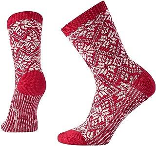 Smartwool PhD Outdoor Light Crew Socks - Women's Traditional Snowflake Wool Performance Sock
