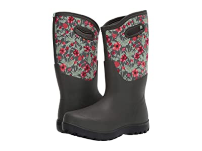 Bogs Neo Classic Tall Vine Floral (Dark Green Multi) Women