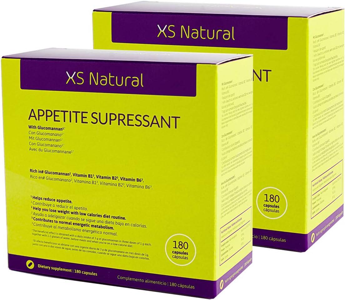 2 XS Natural Appetite Supressant: Cápsulas saciantes para controlar y reducir el apetito