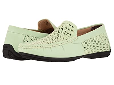 Stacy Adams Cicero Casual Slip On Loafer (Light Aqua) Men