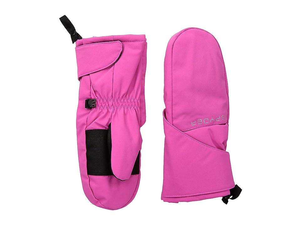 Spyder Kids Bitsy Cubby Ski Mitten (Toddler) (Taffy Pink/Taffy Pink) Ski Gloves