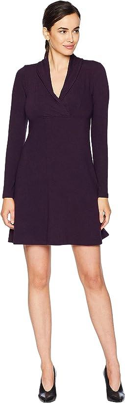 Mock Neck Taylor Dress